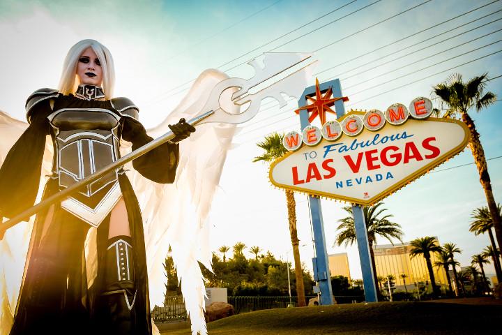 Christine Sprankle at Grand Prix Las Vegas - Photo by Joey Pasco