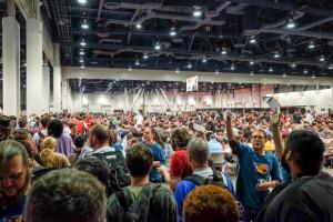 Grand Prix Las Vegas Crowd - Photo by Joey Pasco
