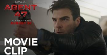 Hitman: Agent 47 Train Tracks Clip