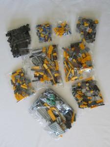 LEGO Ideas WALL·E Set Bags