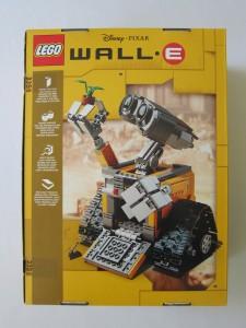 LEGO IDeas Wall·E Set Box Back