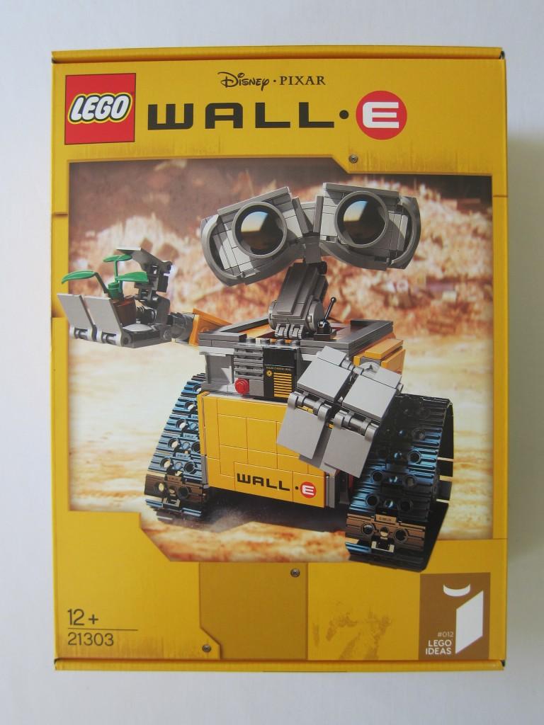 LEGO Ideas Wall·E Set Box Front