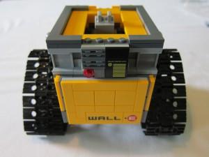 LEGO Ideas Wall·E Set Halfway Built