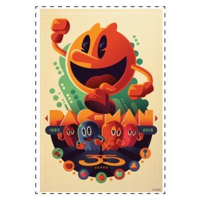 Pac-Man-Anniversary-Canvas-by-Tom-Whallen