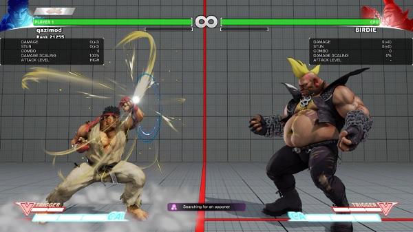 Street Fighter V Beta 4