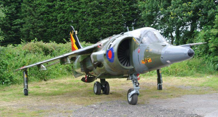 Hawker Harrier Jump Jet for Sale
