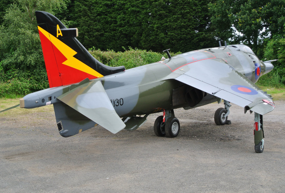 Hawker Harrier Jump Jet for Sale