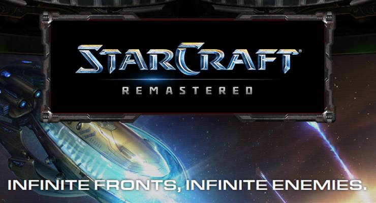 Blizzard Entertainment Reveals StarCraft Remastered