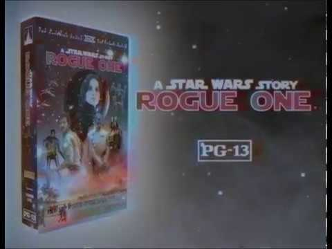 Rogue One: A Star Wars Story Comes to VHS