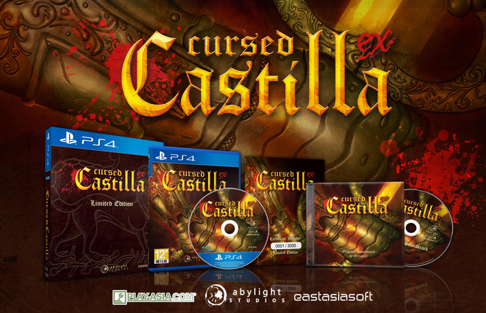 Cursed Castilla EX Physical Release Banner