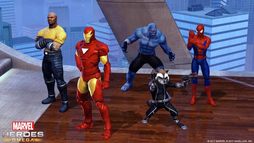Marvel Heroes Omega MMO RPG