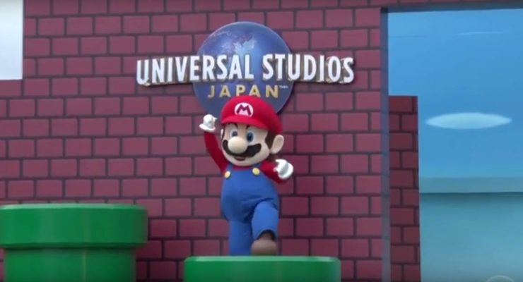 Super Nintendo World Groundbeaking Ceremony