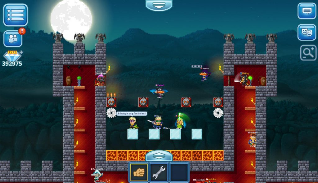 Pixel Worlds Cross Platform Sandbox PC release
