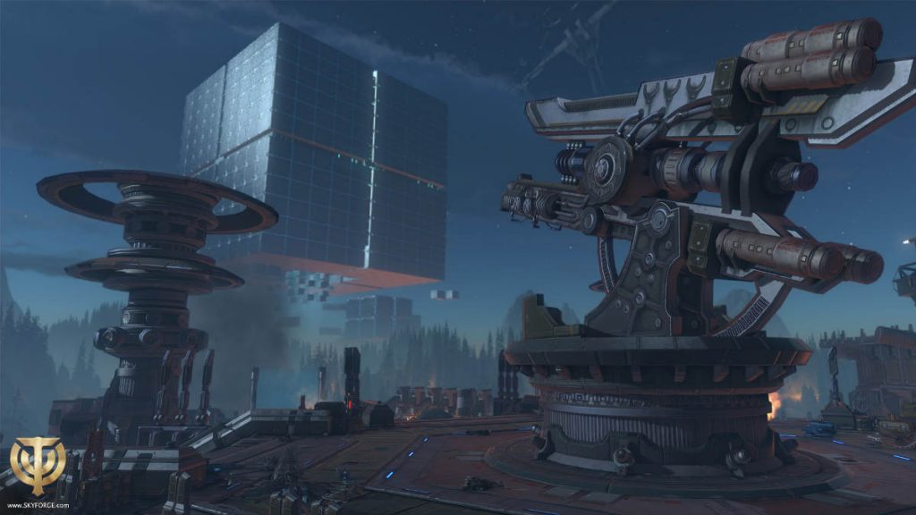 SkyForge The Mechanoid War Free Expansion for PS4