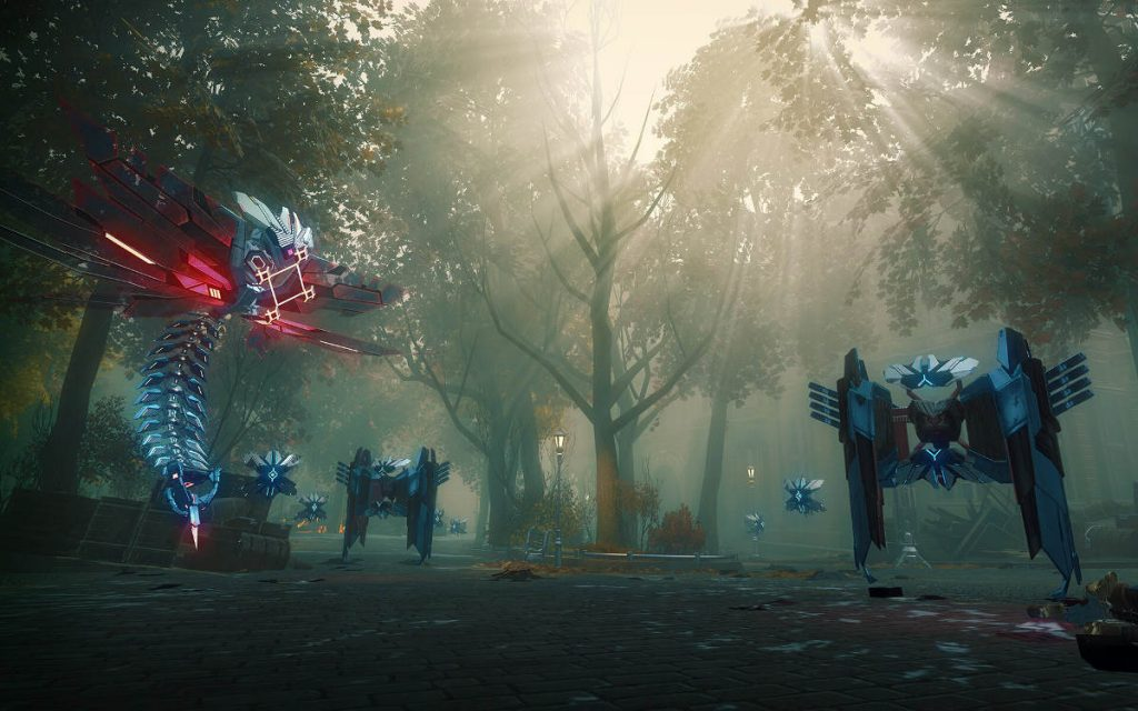 Skyforge The Mechanoid War Released on PlayStation 4