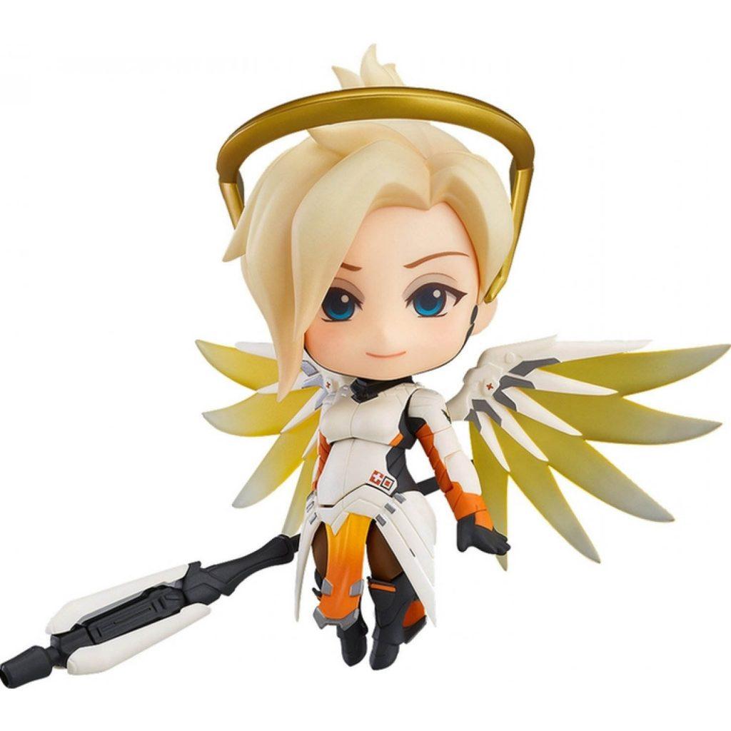 Nendoroid Overwatch Mercy Classic Skin Figure Standing (1)