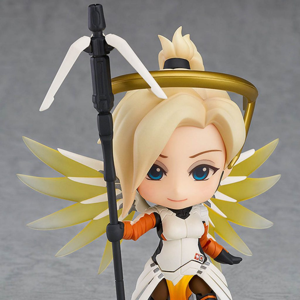 Nendoroid Overwatch Mercy Classic Skin Figure With Staff