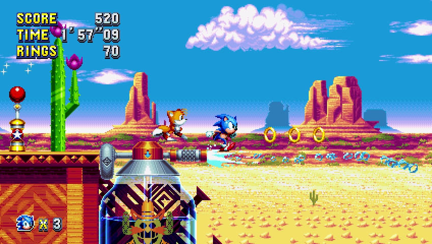 Sonic Mania Release