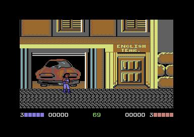 Double Dragon on C64