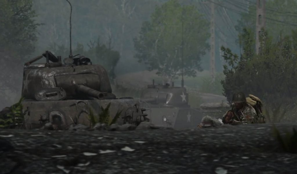 New Call of Duty: WWII Carentan Map Trailer