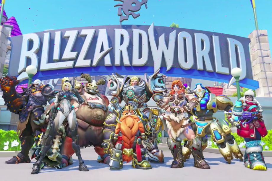 Overwatch Blizzard World New Skins