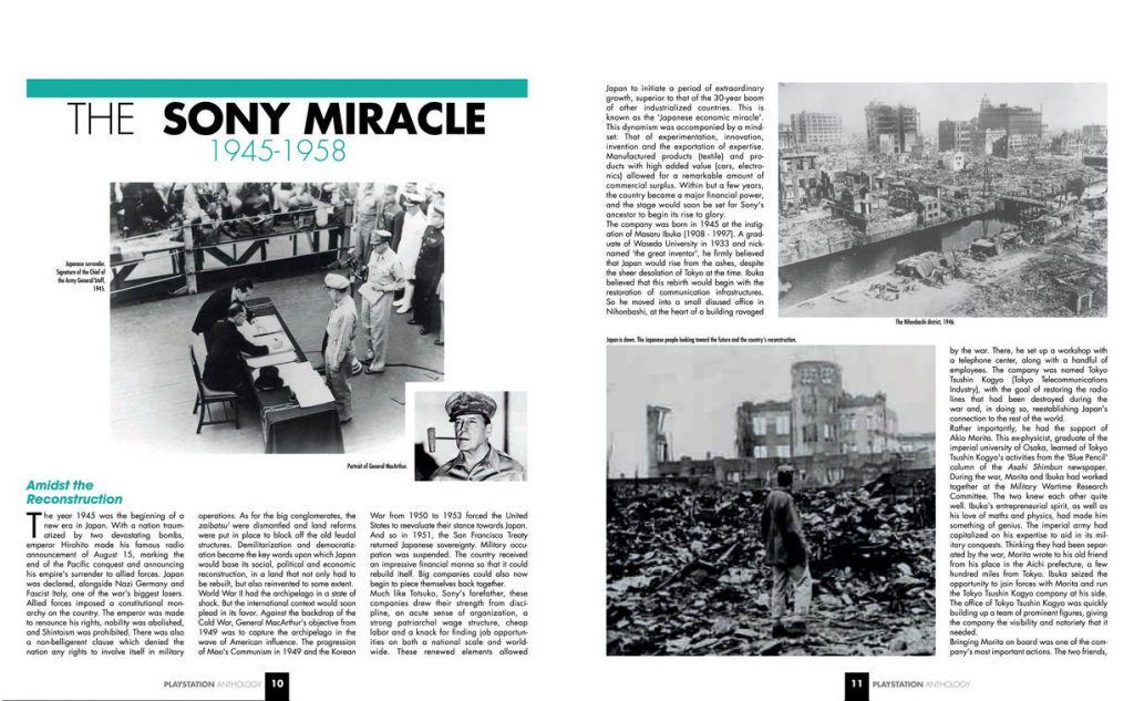 PlayStation Anthology Book Sony Miracle Excerpt