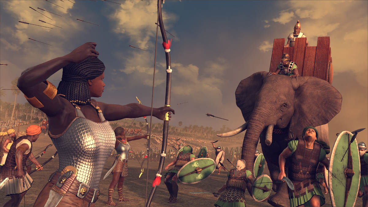Total War Rome 2 Desert Kingdoms Culture Pack Kingdom of Kush