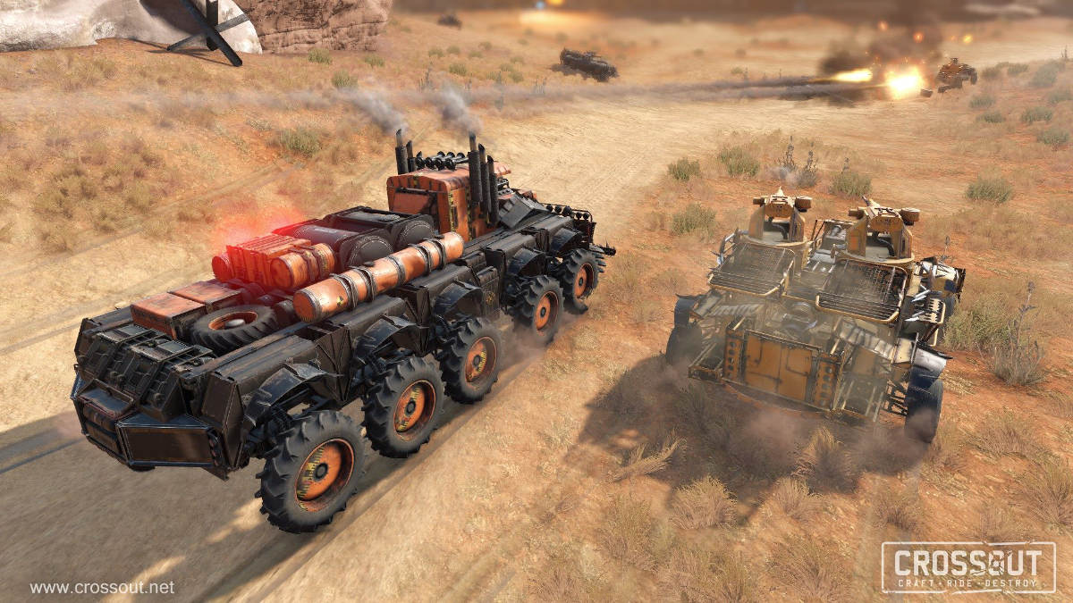 Crossout Raids Get Overhauled and April Fools Event Details