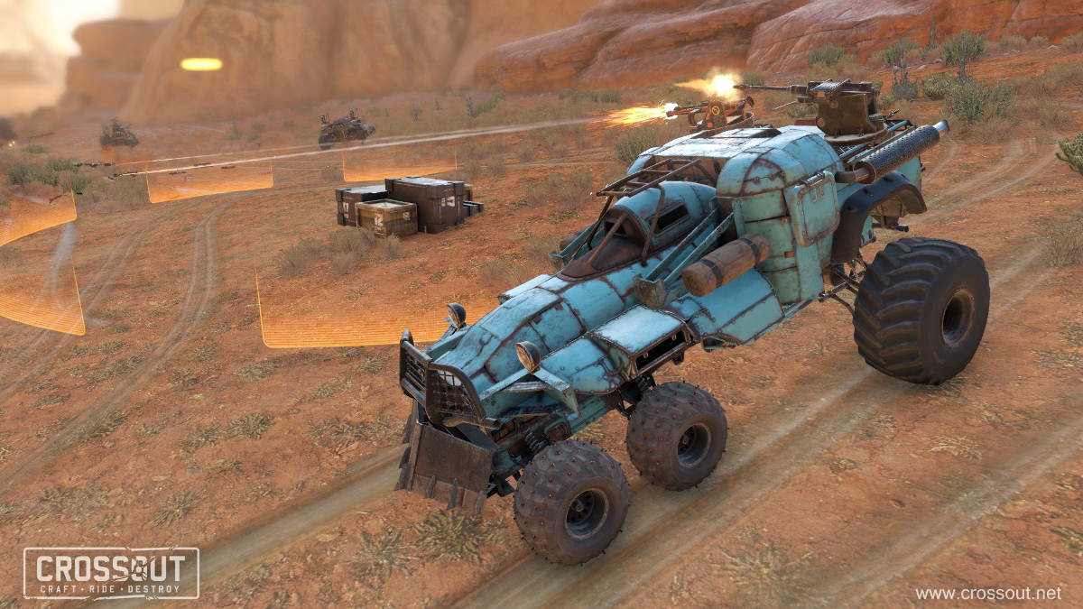Crossout Raids Get Overhauled