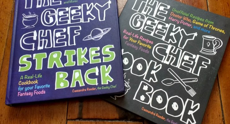 The Geeky Chef Cook Books