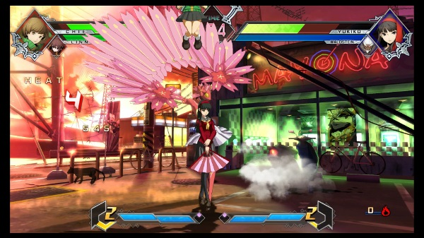 Blazblue Cross Tag Battle demo