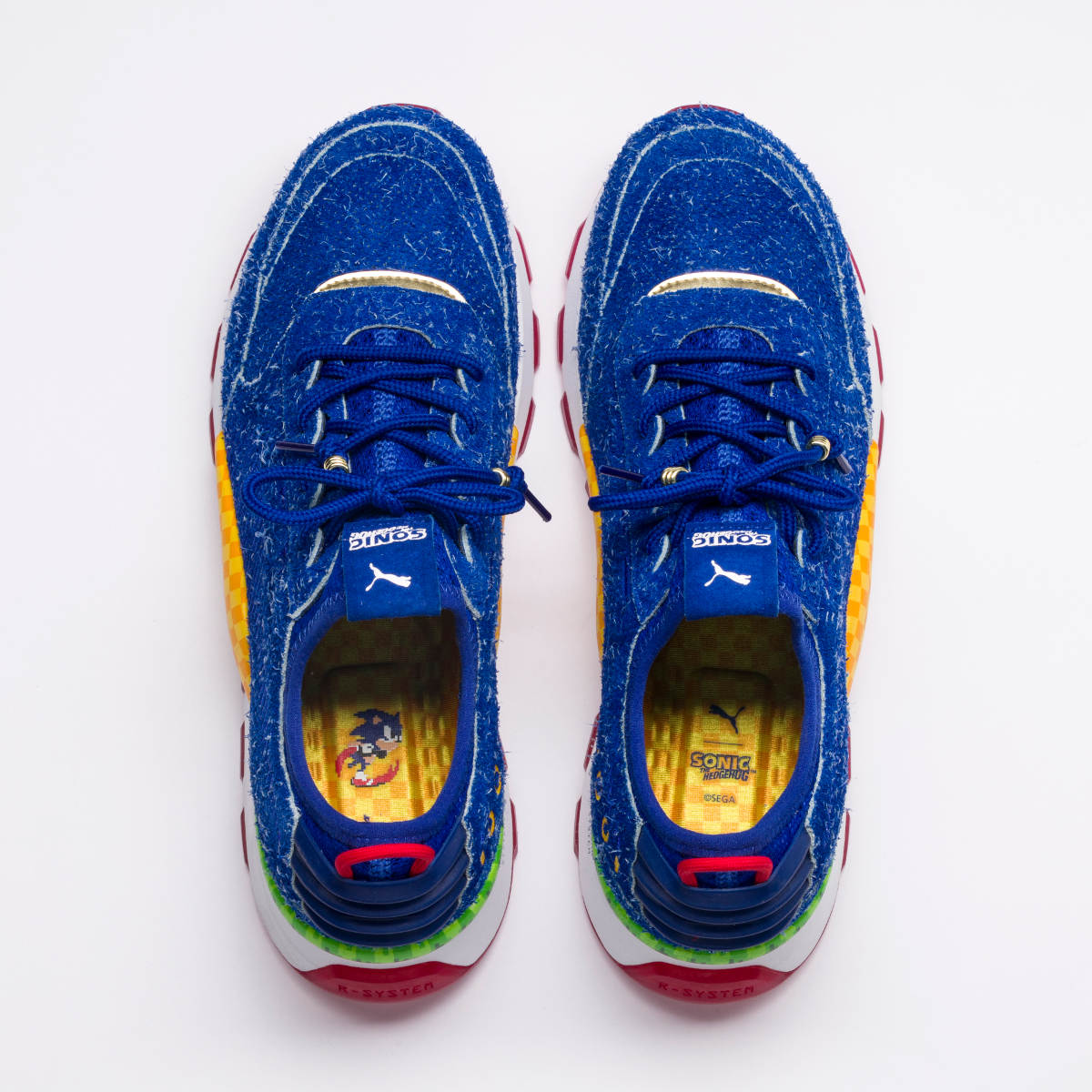 PUMA x SEGA RS-0 Sonics Top View