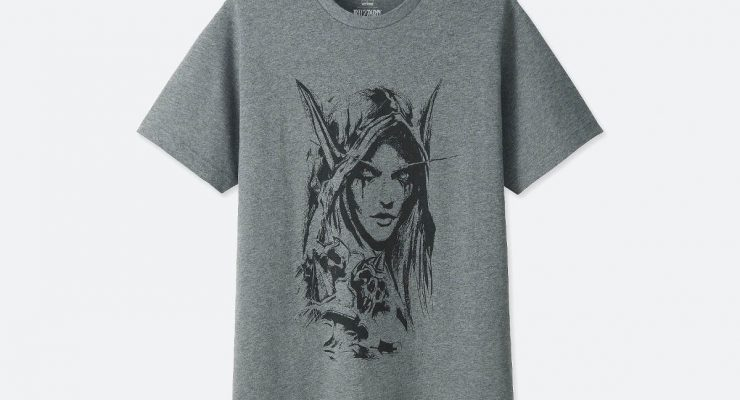 Limited Edition Blizzard Shirt Range at Uniqlo