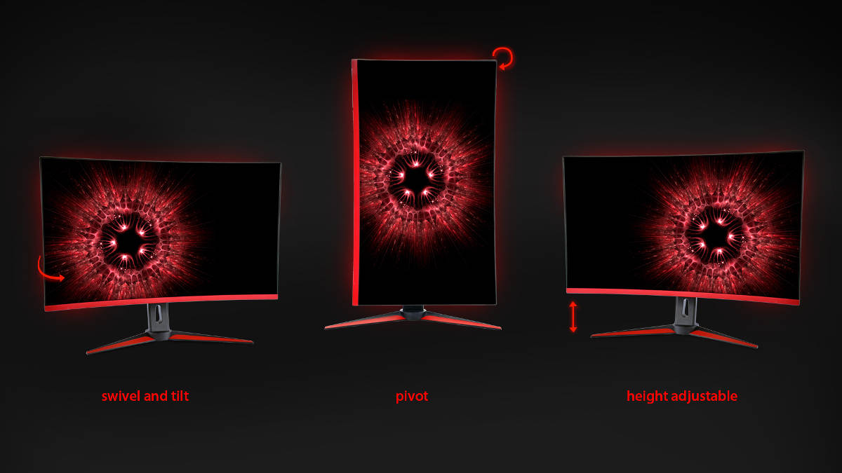 New HG Gaming Monitors From Hannspree Positions