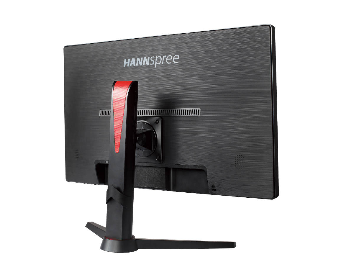 New HG Gaming Monitors From Hannspree - The Hannspree HG244PJB Back