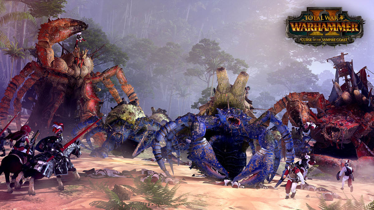 Curse Of The Vampire Coast Comes To Total War Warhammer II - Coastal Creatures