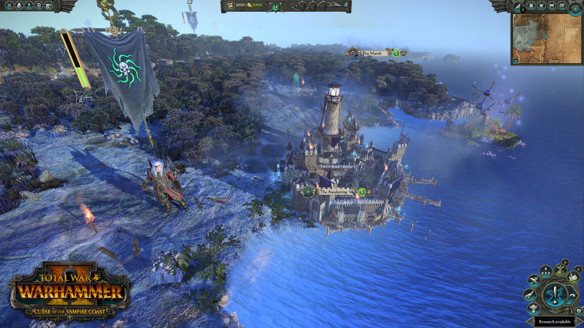 Curse Of The Vampire Coast Comes To Total War Warhammer II - Luthor Harkon Campaign