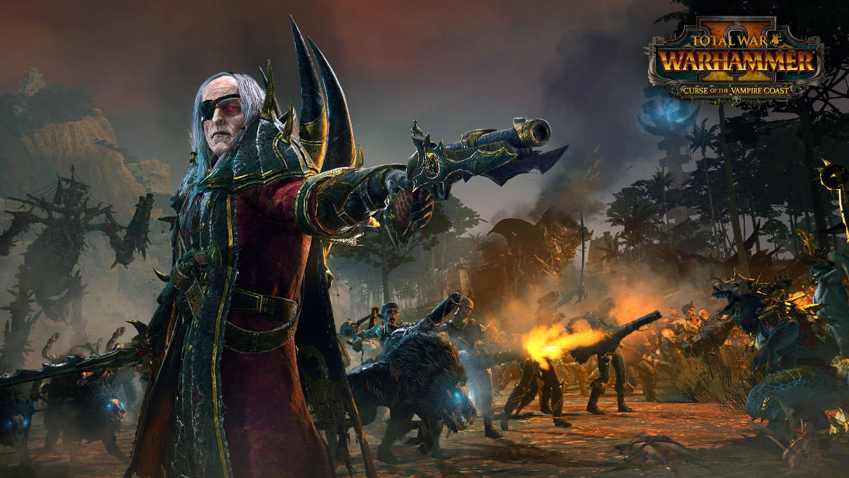 Curse Of The Vampire Coast Comes To Total War Warhammer II - Luthor Harkon