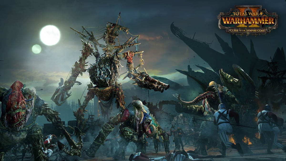 Curse Of The Vampire Coast Comes To Total War Warhammer II - Necrofex