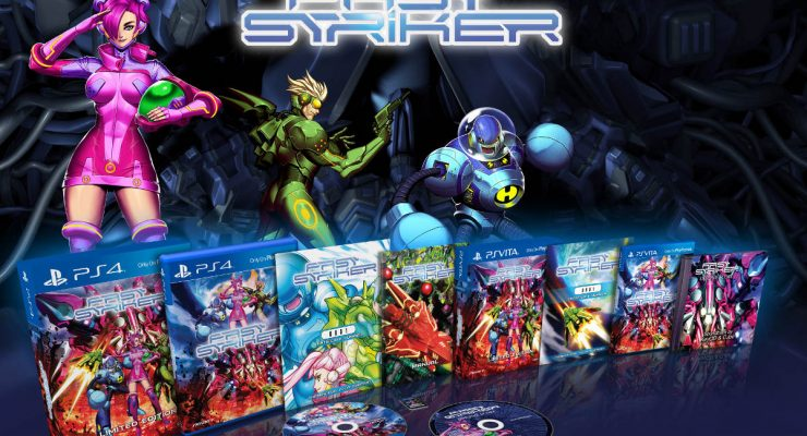 Fast Striker All Physical Product Releases - PS4, Vita and Soundtrack