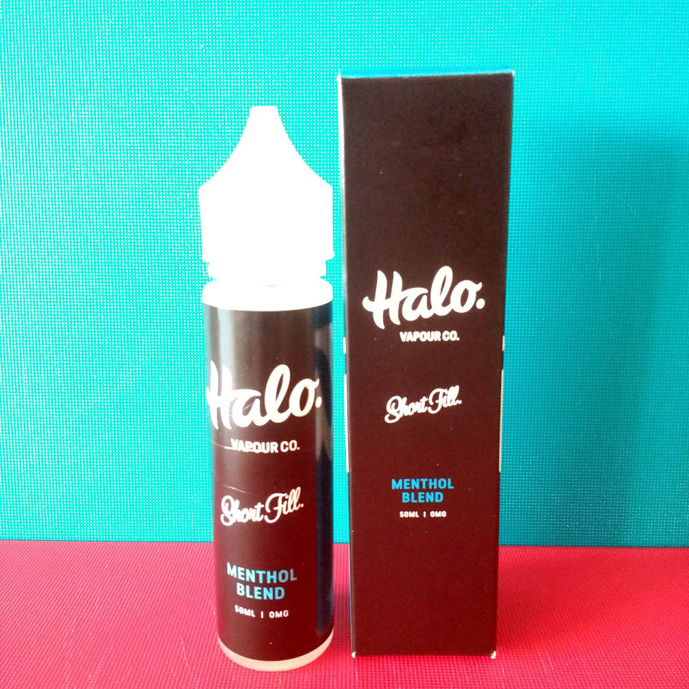 New Halo Menthol Blend Shortfill Vape Liquid
