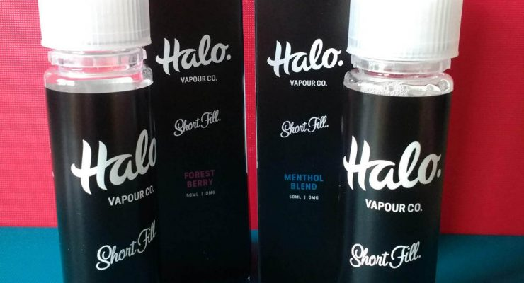 New Halo Vapour Co. Shortfill Vape Liquid Reviews