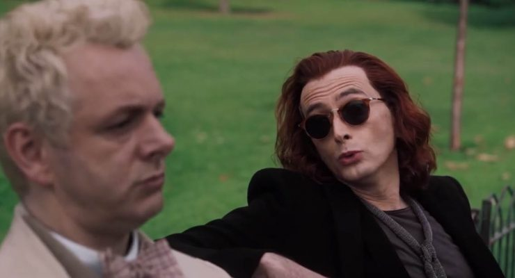 The First Trailer for Good Omens Has Arrived